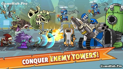 Tải game Tower Conquest - Thủ tháp Hack cho Android