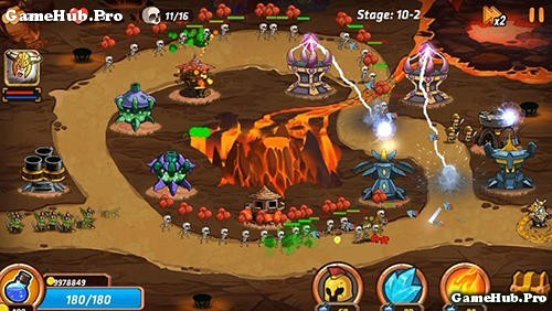 Tải game Tower Defense Battle - Thủ tháp Mod tiền Android