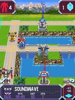 Tải game Transformers - G1 Awakening Robot đại chiến
