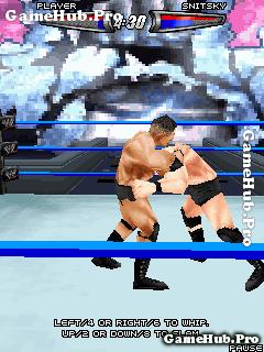 Tải game WWE Smackdown vs Raw 2008 đối kháng cho Java