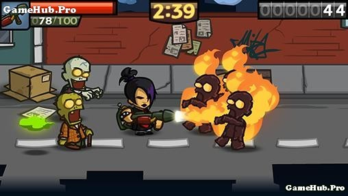 Tải game Zombieville USA 2 - Diệt Zombie thành phố Android