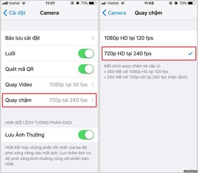 Những cách giảm dung lượng Video trên iOS (iPhone/iPad)