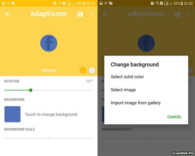 Cách tự Mod icon trên Android theo ý thích của mình