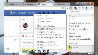 Cách xem ai nhắn tin nhiều nhất trên Facebook bằng PC