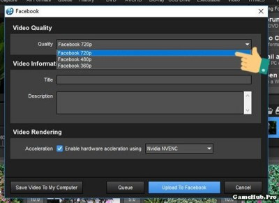 Cách xuất video khi hoàn thành trên Proshow Producer