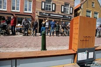 Công nghệ chắn lũ tự động dài nhất thế giới của Hà Lan