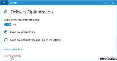 Cách giới hạn băng thông download Windows Update trên Win 10