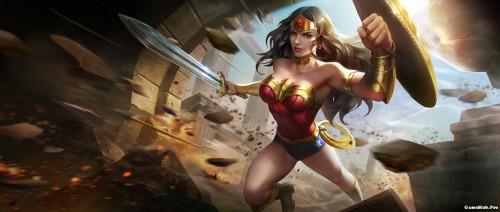 Liên Quân Mobile: Cách chơi và lên đồ tướng Wonder Woman