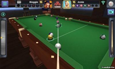 Tải game 3D Pool Ball - Đá BI DA 3D bản Mod Android