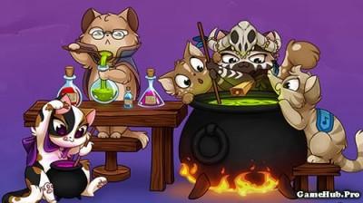 Tải game Castle Cats - Phiêu lưu RPG Mod Money Android