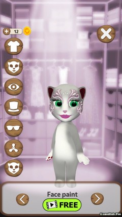 Tải game Talking Cat Lily 2 - Mèo Lily Mod Money Android