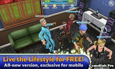 Tải game The Sims FreePlay - Mô phỏng Sim Mod Money Android