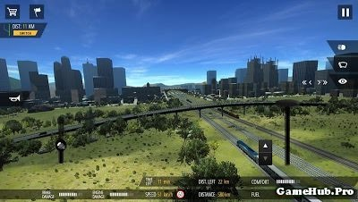 Tải game Train Simulator PRO 2018 - Lái tàu hỏa Mod Money