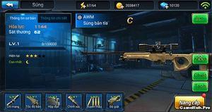Chiến Dịch Huyền Thoại: Hướng dẫn nâng cấp súng, vũ khí