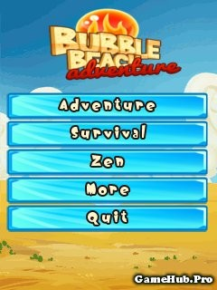 Tải Game Bubble Beach Adventures - Bắn Ngọc Crack Java