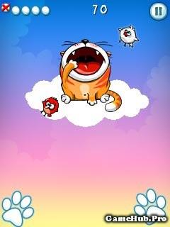 Tải game Hungry Cat - Mèo Đói Đi Ăn Chim Cho Java