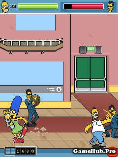 Tải Game The Simpsons Arcade Crack Cho Java miễn phí