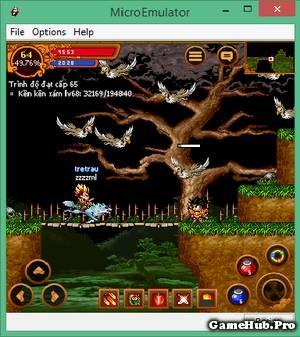 Vị trí UP Level từ 64 đến 96 Vùng Đất Ma Quỷ Ninja