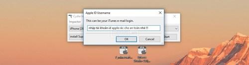 Cài ứng dụng từ máy tính lên iPhone, iPad chưa Jailbreak