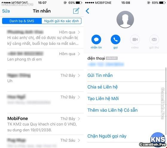 Hướng dẫn chặn tin nhắn rác trên điện thoại iPhone nhanh