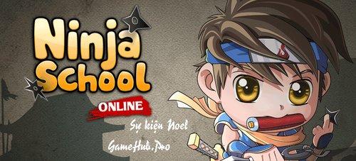 Ninja School Online thông báo sự kiện Noel 2016 mới nhất