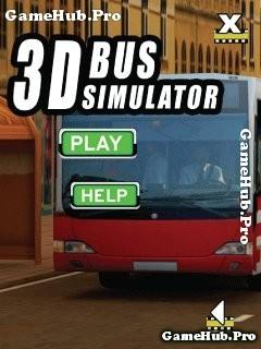 Tải game Bus Simulator 3D - Mô phỏng lái xe Bus cho Java