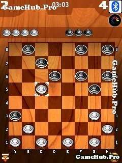 Tải game Checkers - Chơi cờ đam qua Bluetooth cho Java