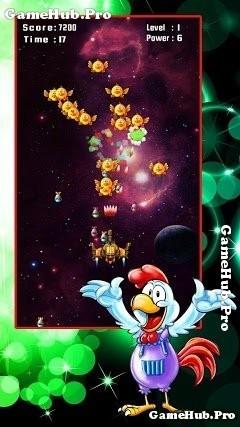 Tải game Chicken Shooter - Bắn gà Vũ Trụ cực hay Android