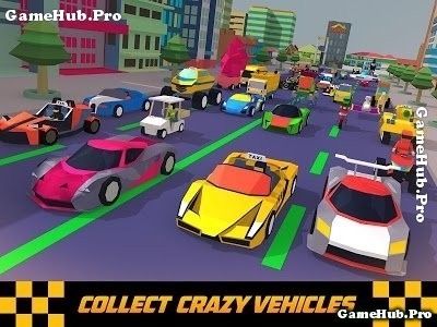 Tải game Crazy Traffic Taxi - Lái Taxi thành phố Android