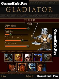 Tải game Gladiator 3D - Đối kháng đấu trường La Mã Java