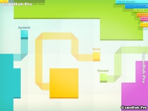Tải game Paper.io - Dành giật lãnh thổ cho Android iOS