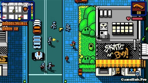 Tải game Retro City Rampage DX - Tội phạm thế giới Android