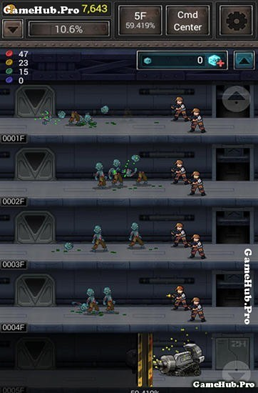 Tải game Zombie Hive - Chống Zombie Mod tiền Android