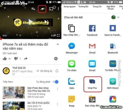 Tải Viral Pro - Ứng dụng xem video Youtube dạng cửa sổ