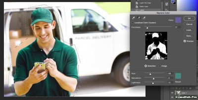 Cách đổi màu đối tượng trên Adobe Photoshop