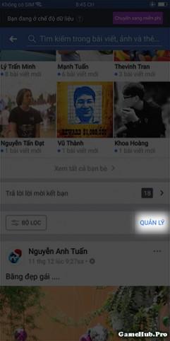 Cách xóa Status, Tags hàng loạt trên ứng dụng Facebook