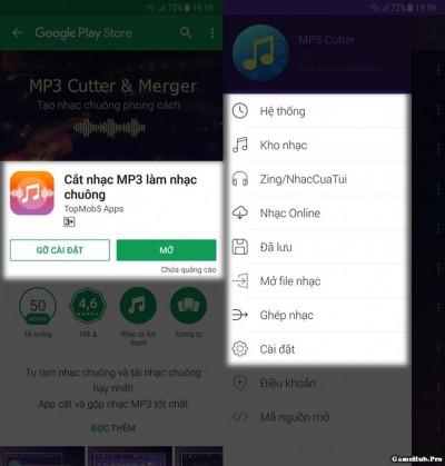 Thủ thuật cắt nhạc làm nhạc chuông trên Android