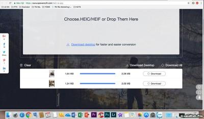 Những công cụ chuyển ảnh định dạng HEIC sang JPG trên iOS 11