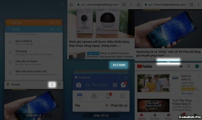 Thủ thuật đa nhiệm ứng dụng dạng bong bóng cho Samsung