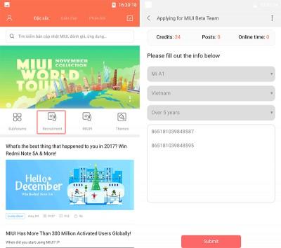 Đăng ký Android 8.0 cho Xiaomi Mi A1 dễ dàng nhất
