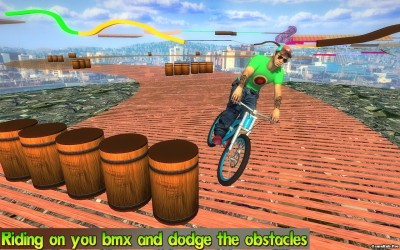 Tải game BMX Stunts Racer 2017 - Đua xe Mod Money Android