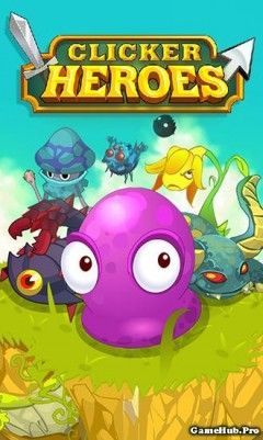 Tải game Clicker Heroes - Nhập vai Mod Money cho Android