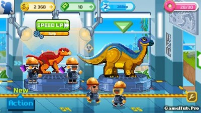 Tải game Dino Factory - Sản xuất khủng long Mod Money