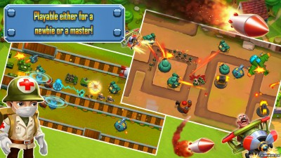 Tải game Epic Defenders TD - Phòng thủ Mod Money Android