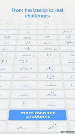 Tải game Euclidea - Tưởng tượng phong phú Unlock Android