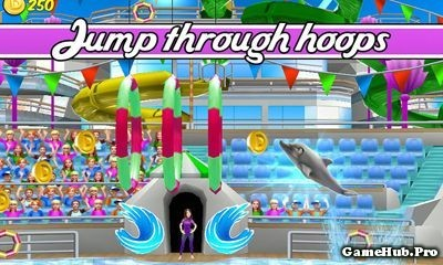 Tải game My Dolphin Show - Xiếc cá heo Mod Money Android