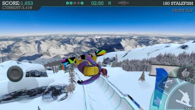Tải game Snowboard Party Aspen - Trượt tuyết Mod Android