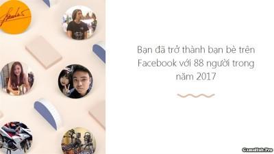 Tạo Year in review 2017 nhìn lại một năm trên Facebook