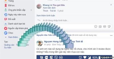 Thủ thuật tạo biểu tượng nút Like bay lượn trên Facebook