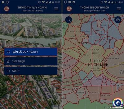 Cách tra cứu quy hoạch đất đai TP HCM bằng Smartphone